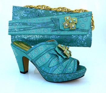 MM1014 .Hot Favorable Italian design shoe and matching bag set,Wholesale and shoe and bag to match