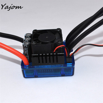 Free for shipping Sensorless 120A Brushless ESC Electric Speed Controller for RC Car Racing Set FT Brand New May 9