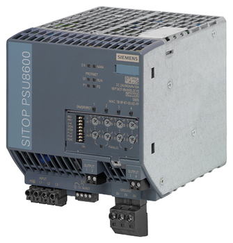6EP3437-8MB00-2CY0 SITOP PSU8600 40A/4X 10A PN STABILIZED POWER SUPPLY INPUT: 3 400-500 V AC OUTPUT: 24 V/40 A/4X 10 A DC