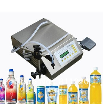 Free shpping Digital Control Pump Drink Water Liquid Filling Machine GFK-160