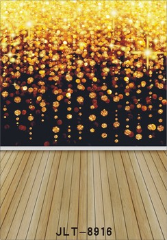 3x5ft Vinyl Newborn Wood Floor yellow glow Photography Background Studio Photo Prop photographic Backdrop cloth 90cm x 150cm